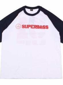 [슈퍼배스]SUPERBASS 51UP 나그랑 7부티 - WHITE/NAVY 반팔 배스 BASS 낚시 스포츠 강 저수지 용인 동백 호수공원 9SHOP 나인샵