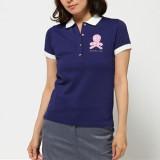 [당일배송] -세일- 마크앤로나 미스틱 폴로 셔츠 여성 골프웨어 반팔 카라티 (블루) - MARK & LONA Mistick Polo MLW-16S-P31