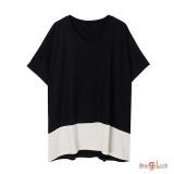 여성 빅사이즈 티셔츠 2096 반팔티