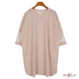 여성 빅사이즈 반팔티 2094 여름 티셔츠