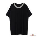 여성 여름 티셔츠 2092 빅사이즈 반팔티