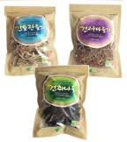 하동의 자연이 키운 나물 - 3종 선물세트(취나물 60g, 토란줄기 60g, 고구마줄기 60g)