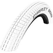 CRAZY BOB BMX 타이어 20인치 사이즈 1.85 고압타이어 [화이트][47-406]