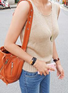 [임블리]넘나 매일 입고싶은 니트나시/라운드니트/민소매니트/여름니트/바캉스룩/썸머니트