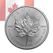 [국제금거래소]2015년 캐나다 메이플 1온스(31.1g) 은화 - 캡슐별도 구매