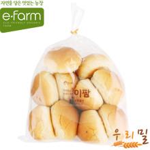 [이팜] [예약상품 D-2]모닝롤빵(우리밀)250g (빵 주문시 전체 상품 같이 배송)