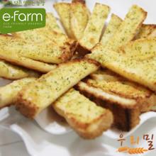 [이팜] [예약상품 D-2]마늘빵(우리밀)45g (빵 주문시 전체 상품 같이 배송)