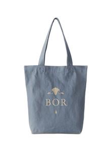 BOR-보르 데님 숄더백-Blue 데님백/에코백/남여공용