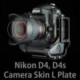 니콘 D4, D4s 카메라스킨 엘플레이트