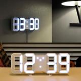 무아스 3D LED 벽시계
