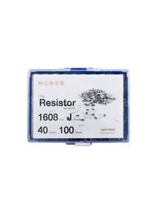 칩저항 키트 1608(0603) 사이즈 J급(5%) 40종 (100개~500개入) /칩저항키트/칩저항세트/저항세트/저항/칩저항/샘플키트/100개/200개/300개/500개