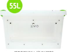 중형 개조리빙박스 55L (자석잠금+앞문열림)- 고슴도치/햄스터/기니피그/펫테일/마우스등 소동물 투명 리빙하우스