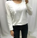 할인▶ 포켓 라운드넥 기본 베이직 티셔츠 - 화이트, 블랙