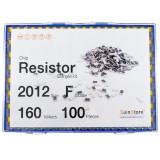 칩저항 키트 2012(0805) 사이즈 F급(1%) 160종 (100개~500개入) /칩저항키트/저항키트/칩저항세트/저항세트/저항/칩저항/샘플키/100개/200개/300개/500개