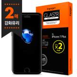 슈피겐 아이폰7플러스 강화유리 글라스tR슬림(2매)