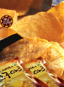 다모식품 허니버터 고구마칩 56g x 10봉