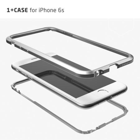 [1+2 사은품 이벤트] [당일발송] mindplar i+Case 에어로스페이스 iPhone 6s전용 메탈범퍼 케이스