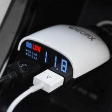 네오픽스 퀄컴퀵 9V듀얼 고속 차량용 충전기 CH-4800