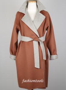 [국내당일발송/패션툴즈] 막스마라 리알토 리버시블 양면 코트 하프코트