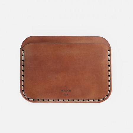 MAKR™ Round Wallet Cordovan