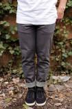 Vibralux Haffey Signature Jeans - 바이브랄럭스 하피 프로스케이터 시그네이쳐 데님  그레이 슬림스트레이트 [프리미엄데님,미국직수입,명품청바지,남자청바지]