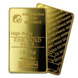 국제금거래소 고급 프레스 골드바 18.75g 순금 999.9%