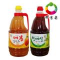 [하동장터] 구산농장 하동 건강음료세트(매실엑기스+대봉감식초)