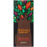 공정무역 이퀄 초콜릿 리얼 다크 75%