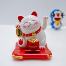 손 흔드는 복 고양이