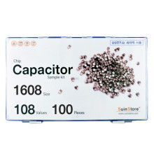 칩세라믹(캐패시터) 샘플키트 1608(0603) 사이즈 108종 (100개~300개入) /칩캐패시터키트/캐패시터키트/칩세라믹키트/세라믹키트/칩세라믹세트/샘플키트/100개/300개
