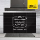 주방아트보드 키친플래너 / 딜리셔스 캔 블랙 / Small