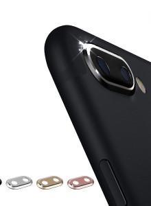 아이폰8플러스/7플러스 겸용 카메라 렌즈 보호 메탈링 커버
