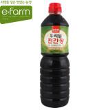 [이팜] 우리밀 진간장(1L)