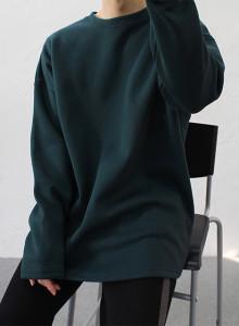 오버핏 발열 양기모 긴팔티셔츠 6color