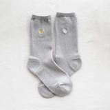 [KT&G 상상마당 디자인스퀘어] embroidery socks_dandelion