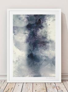 유럽산 우드프레임 포스터 원목액자 - Abstract no.02
