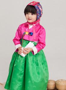 동심 여아아동한복 (품절)