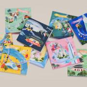 외국인 친구 기념 선물 | 서울 9구역 점착 메모지 포스트잇