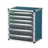 (중앙브레인) CA1016 알루미늄파일케이스/칩박스/부품박스