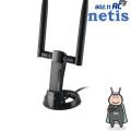 네티스 WF2190 대한민국형 차세대 무선 랜카드/867Mbps/802.11AC/듀얼밴드 휴대용 USB 무선 공유기 WIFi