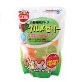 마루칸 토끼/햄스터/기니피그/친칠라/다람쥐/페릿간식 헤어볼예방 야채+사과+오렌지 고급3종젤리 (16g x 14개입)