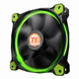 써멀테이크 Riing 14 LED Fan-Green 아스크텍