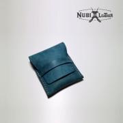 [누비레더] 듀퐁라이터 수제 가죽케이스-푸에블로 블루