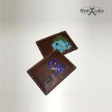 [누비레더] 수제 캐릭터 카드지갑