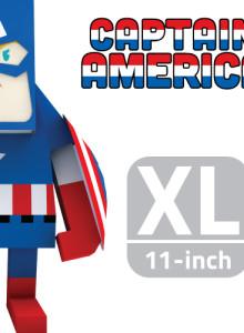 [KT&G 상상마당 디자인스퀘어] MARVEL CAPTAIN AMERICA 캡틴아메리카 (XL)