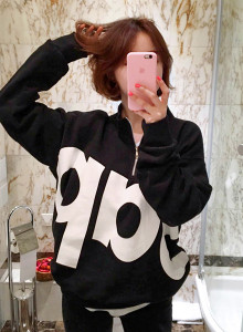 [임블리][VELYX2]췌키랍 맨투맨/레터링맨투맨/반폴라티셔츠/기모맨투맨/반집업맨투맨/루즈핏