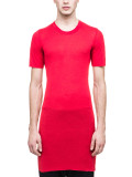 릭오웬스 베이직 숏슬리브 티셔츠 레드(RICK OWENS BASIC SHORT SLEEVES T T-SHIRT IN RED)