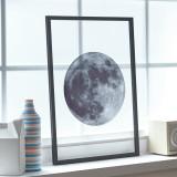유럽산 우드프레임 투명액자 CLEAR ART - Blue Moon