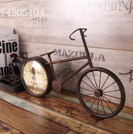 빈티지 메탈 자전거 시계 2 / LOFT /