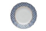 (예카공구) 6. 15센치 튤립 코발트넷 케익접시 로모노소프 임페리얼 포세린 예쁜그릇